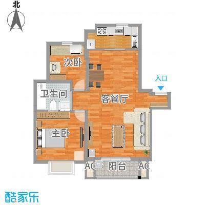 上海_爱庐世纪新苑_两室两厅