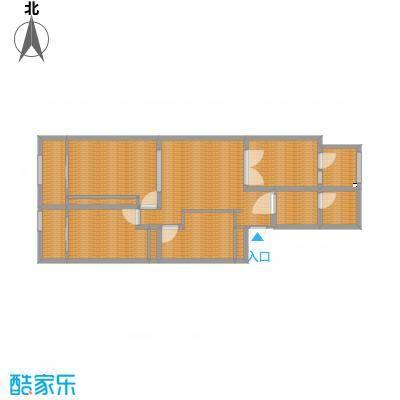 神光花园120平三室两厅一厨一卫