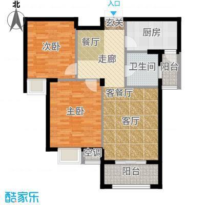 御景龙湾106平方米两居室