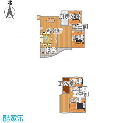 东方丽景176平02户型
