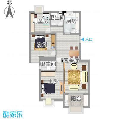 丹枫园2栋1单元102室
