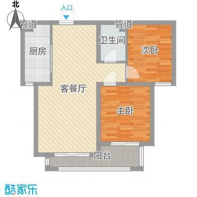 邯郸_水岸名都二期_中东户型