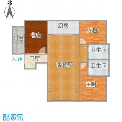 中国塘观山苑136平米