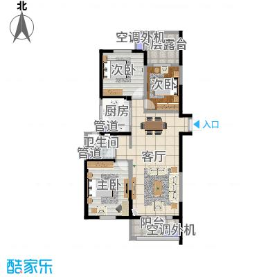 天津_河东万达广场_2016-06-26-1710