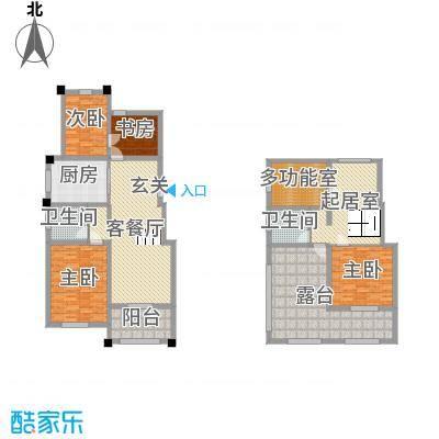 金水湾鑫园102.00㎡E1户型3室3厅1卫1厨
