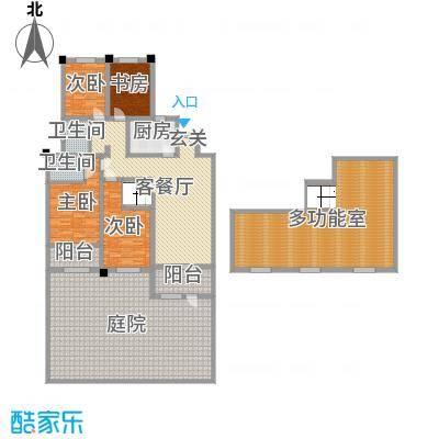金水湾鑫园143.00㎡3#、5#楼的B2户型4室4厅2卫1厨
