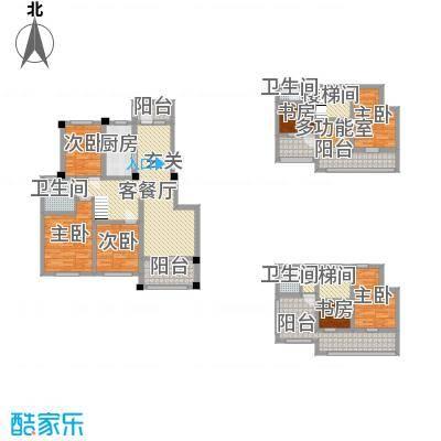金水湾鑫园120.00㎡C1户型3室3厅1卫1厨