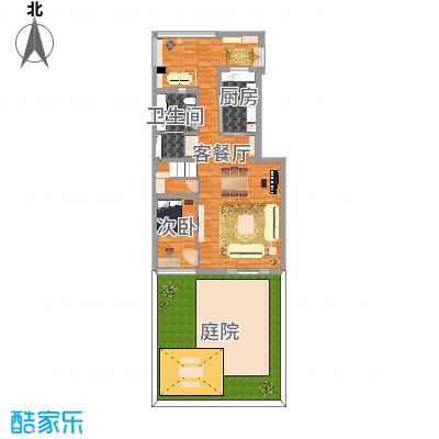 天津社会山花园一楼(日式北欧风)