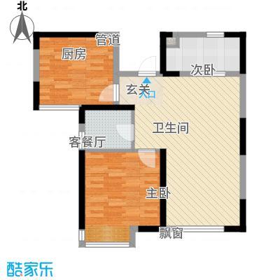 阳光华庭户型2室-副本
