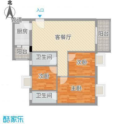 富康新村富康新村户型图户型图3室2厅1卫1厨户型3室2厅1卫1厨-副本