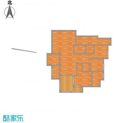 天怡碧桂苑62.40㎡一期1、2号楼标准层户型2室1厅1卫1厨-副本-副本