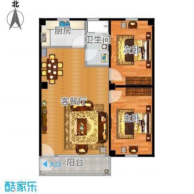 禺雅园-72.4平米原图