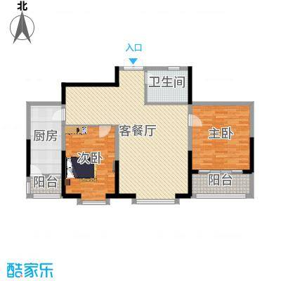 奥林国际公寓两室两厅--丁继杰