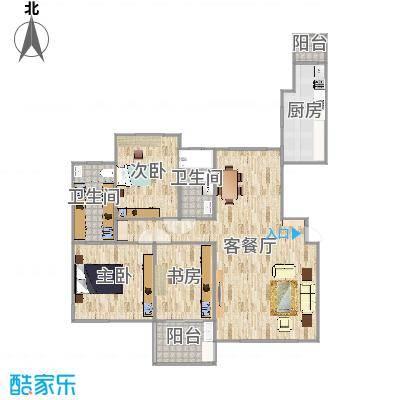 金广东海岸二期装修图