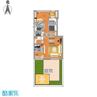 天津社会山花园一楼
