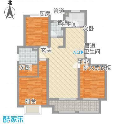 农房檀府112.00㎡2+户型3室2厅2卫1厨-副本-副本