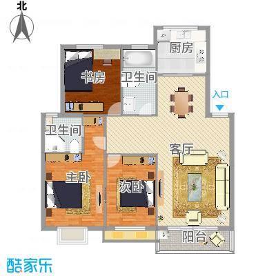 多层宁沁家园3室2厅2卫