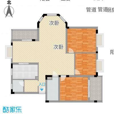 康城水云间康城水云间户型图3室2厅2卫1厨户型10室-副本-副本