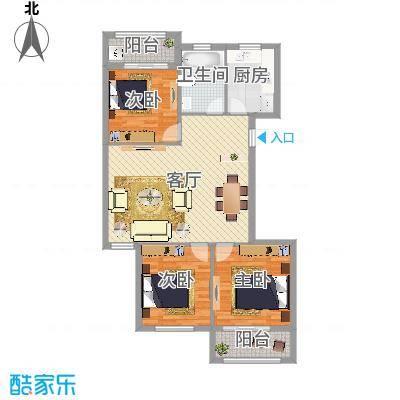 舟宿云庭3室两厅114㎡