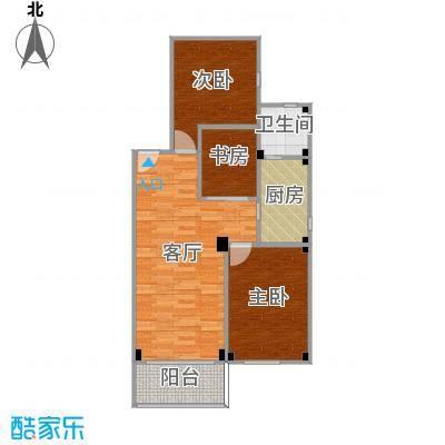 第二方案-两房改三房,次卧扩大