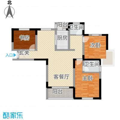 金水湾花园户型3室-副本