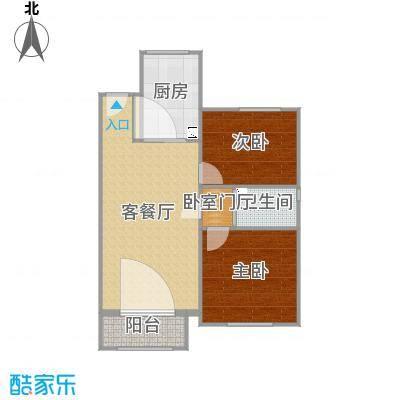 两室两厅雅居效果Hs021