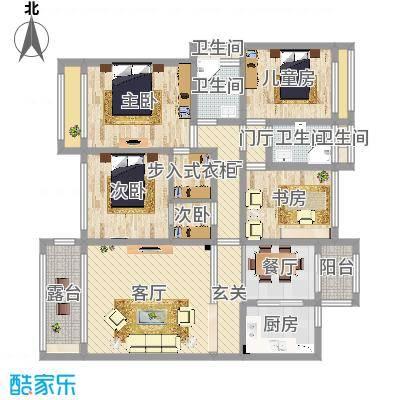 红河云岭・盛世佳园3栋-北欧风格