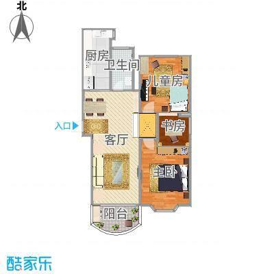 上海新世纪家园三期-现代简约