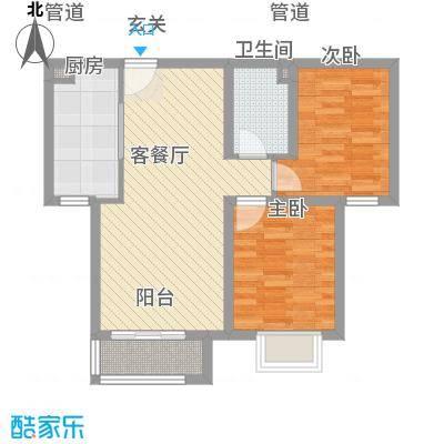 城市雅苑户型2室-副本-副本