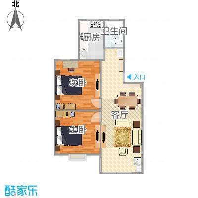 客厅通阳台方案