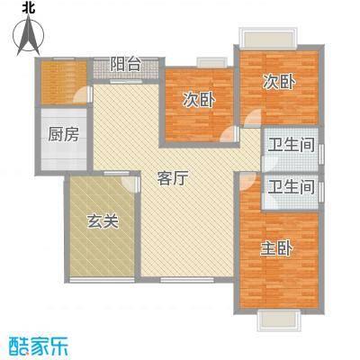 虹色景苑刘先生户型图