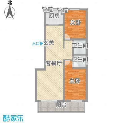 沧州孔雀花园小区(原王官屯旧城改造)15-A副本户型-副本