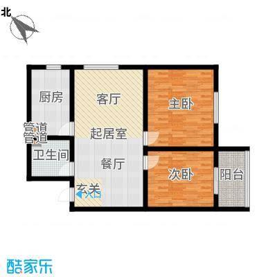 置嘉公寓90.00㎡2-面积9000m户型-副本