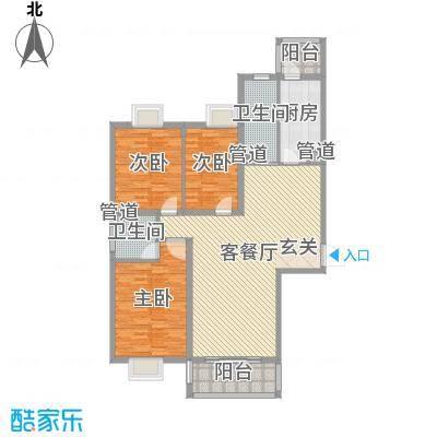 金华园 3室 户型图-副本