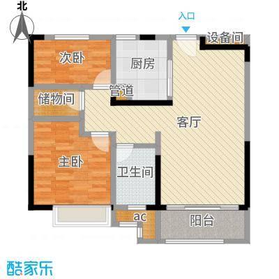 中海国际社区89平米,简欧