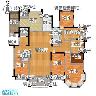 荣禾曲池东岸270.00㎡户型-副本
