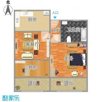 上海_舒乐公寓_2016-08-01-0027