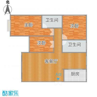 沪佳第一届设计大赛沪佳闸北店C户型-副本
