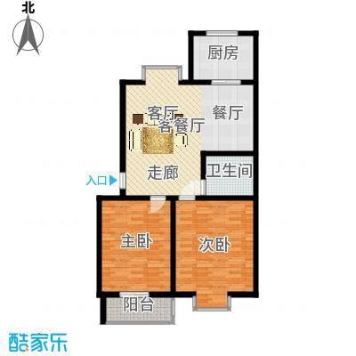 V特区89.00㎡V特区户型图2室1厅1卫1厨户型10室-副本