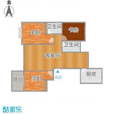 三室两厅一厨两卫137