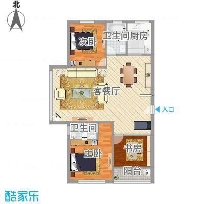 江星公寓133㎡