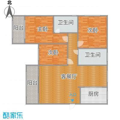 沪佳第一届设计大赛沪佳闸北店C户型-设计师-戴宏亮