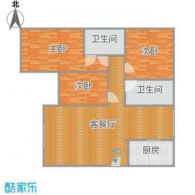 沪佳第一届设计大赛沪佳闸北店C户型-李汉杰