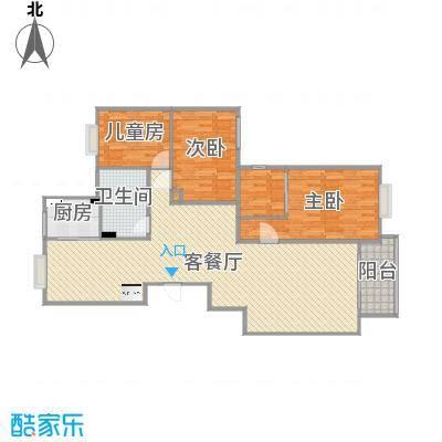 B4-4-601户型三房三厅-副本-副本-副本