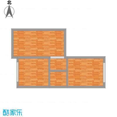 东方红广场7.00㎡C2户型2室2厅1卫1厨-副本