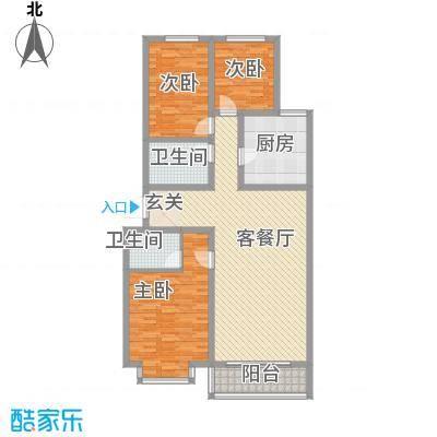 巨海城五区巨海城五区户型图3室2厅63室2厅1卫1厨户型3室2厅1卫1厨-副本