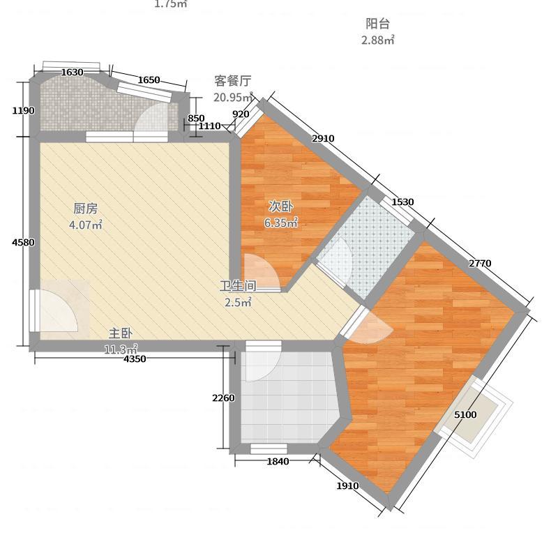 塔城 青岛花园 户型图