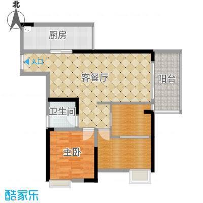 重庆_锦绣新城_92平米二变三