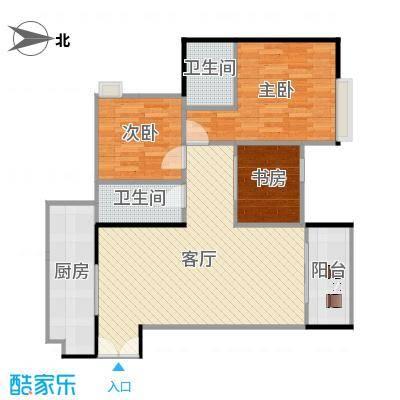 两室两厅双卫B4B5