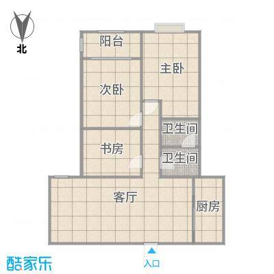 来泉山庄三室两厅设计